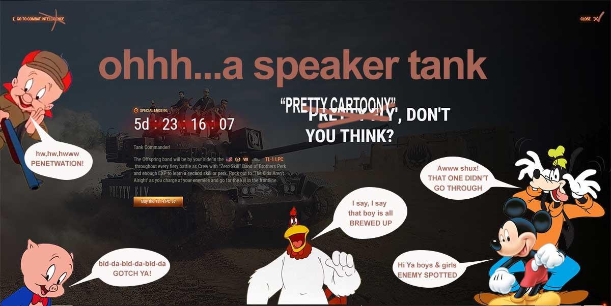 speaker tank